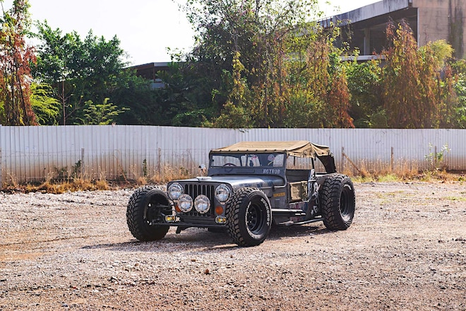 1974 M34 Military Jeep Custom Stretched Body