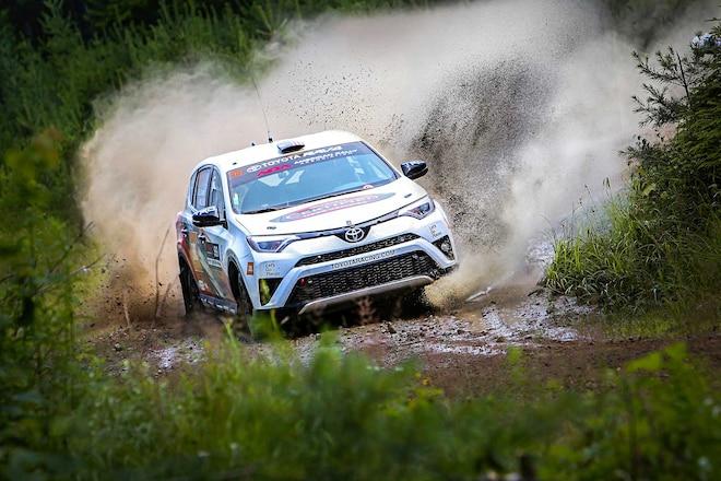 2017 New England Forest Rally Toyota Rally RAV4