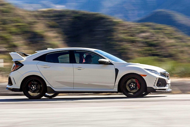 2017 Civic Type R Review Passenger Side Profile