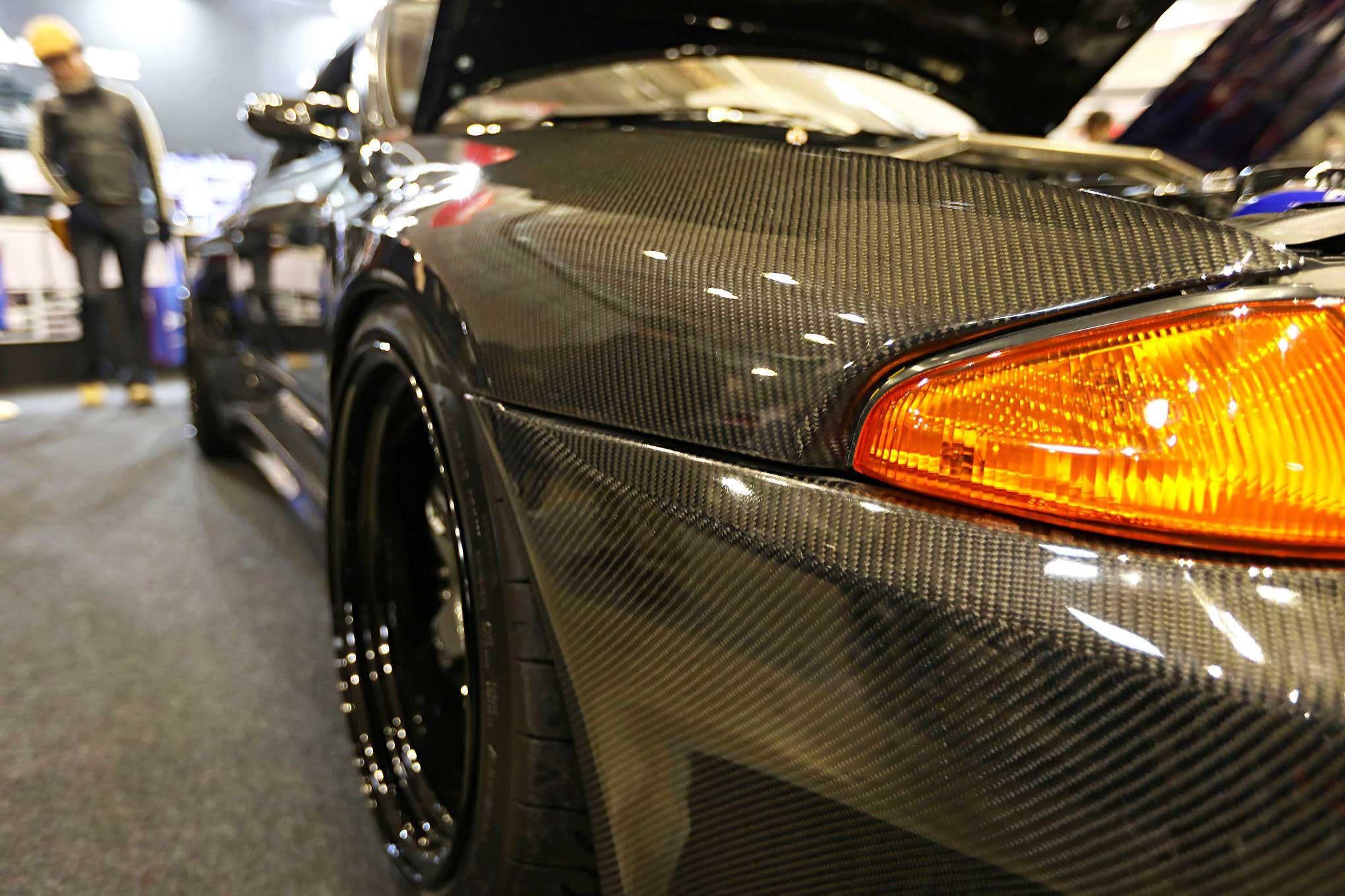 TAS 2018 Spotlight: Garage Active's Carbon-Bodied Nissan R32