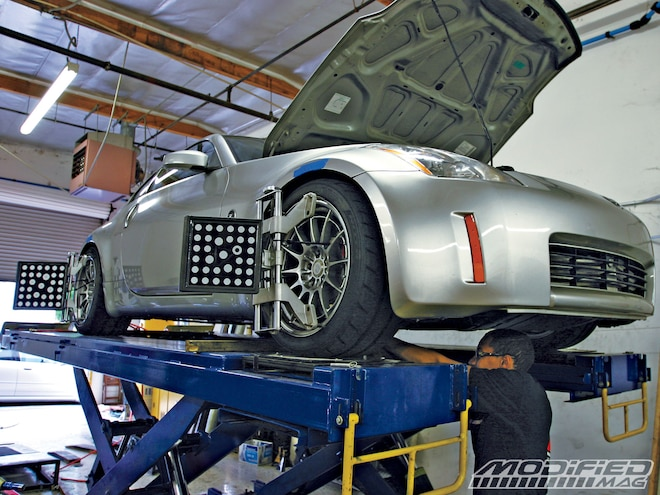 It's All About The Damping - Project 350Z - Suspension Install