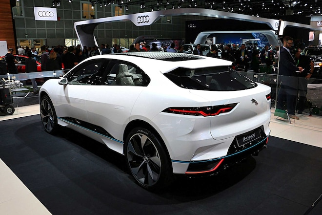 Future Of Jaguar Land Rover Ipace Concept Car