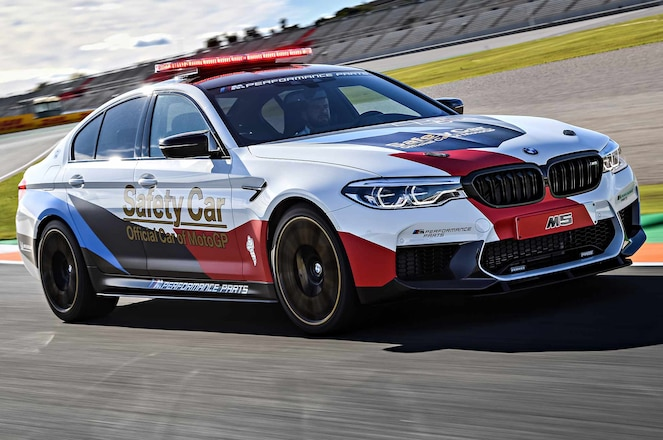 2018 BMW M5 official MotoGP safety car 13