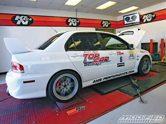 2004 Mitsubishi Evolution VIII - AWD + Turbo + Lots Of Boost = Victory?