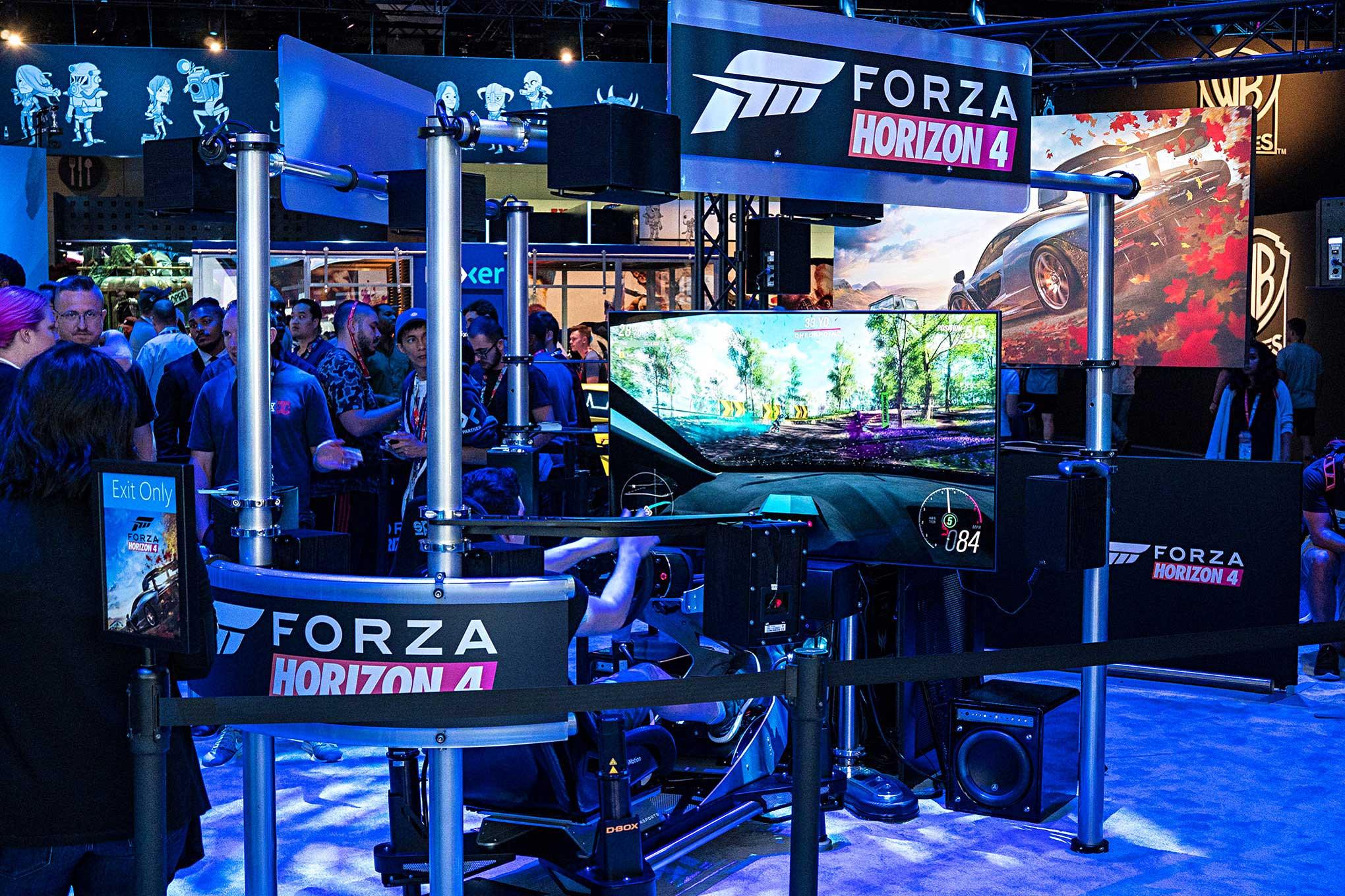 E3 2018 - Racing Simulator Setups