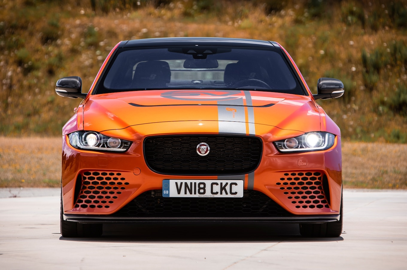 Watch Behind The Wheel Of The Jaguar Xe Sv Project 8