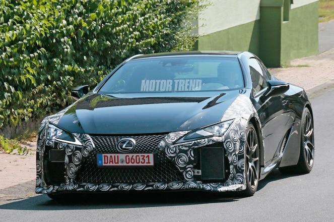 Lexus LC F Front Three Quarters 5