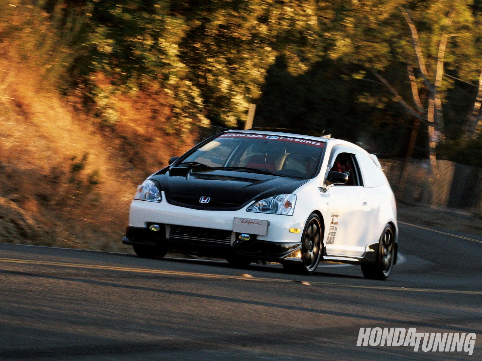 2003 Honda Civic Si Hatchback - GReddy Turbo Kit - Honda Tuning Magazine