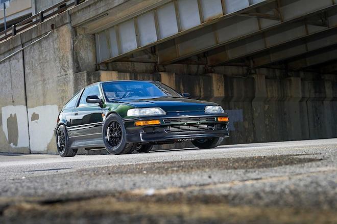 1991 Honda CRX HF Sir Front End Conversion