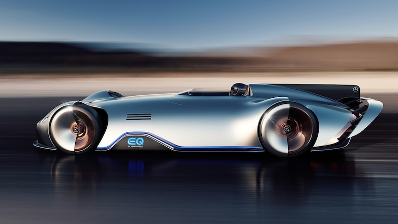 Mercedes Benz EQ Silver Arrow Concept 09