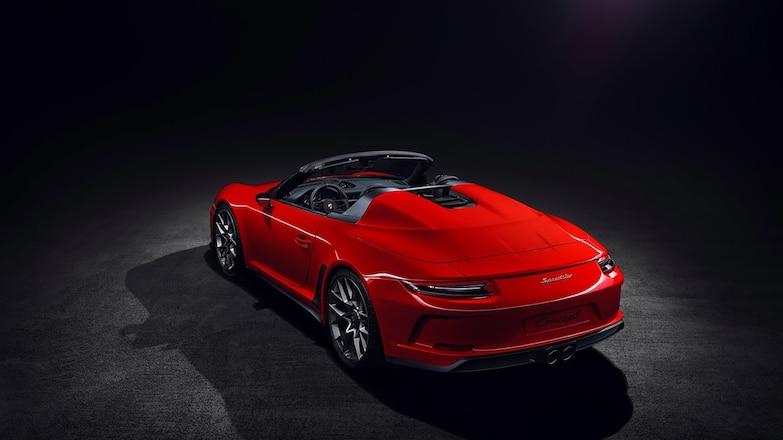 Porsche 911 Speedster Concept Ll Hero