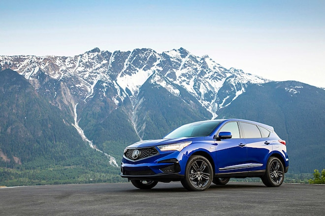2019 Acura RDX Driver Side Front View