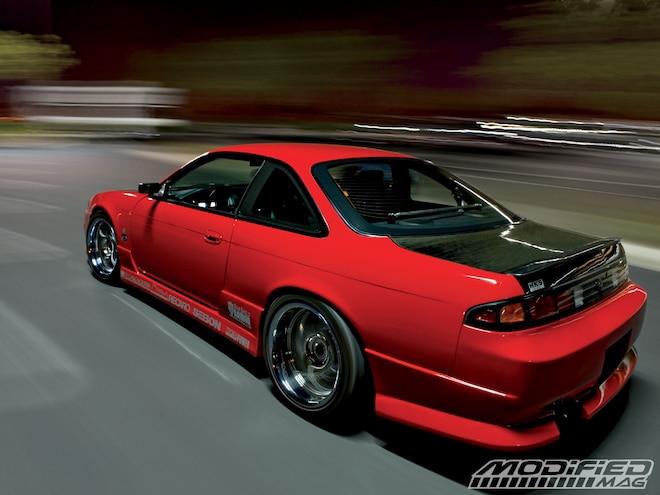 1998 Nissan 240SX - Red Rocket