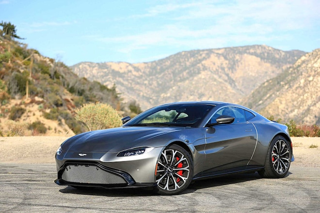 2019 Aston Martin Vantage Driver Side Front View