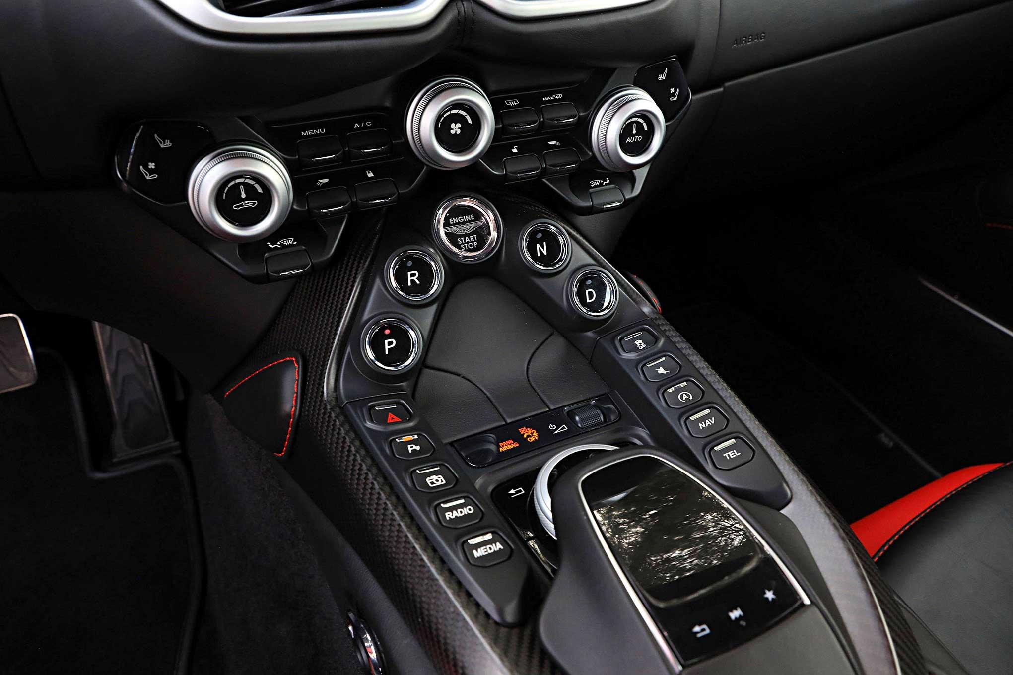 On The Road 2019 Aston Martin Vantage