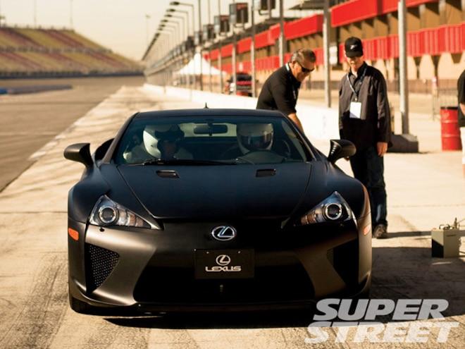 lexus lfa super car