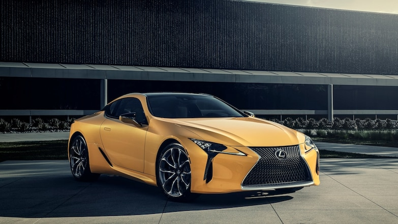 2019 Lexus LC 500 Inspiration Series Front Three Quarters