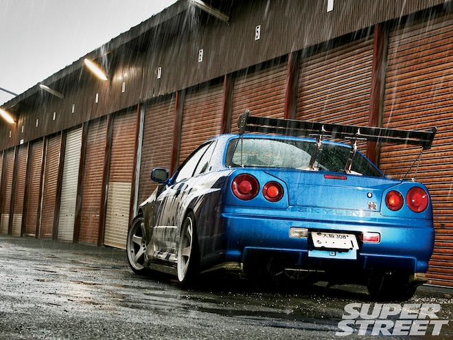 Nissan Skyline GT-R R34 - Do we Have Your Attention Now?