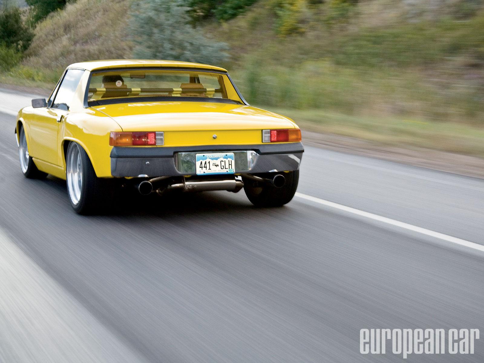 1972 Porsche 914 Modified Mr Porsche European Car Magazine