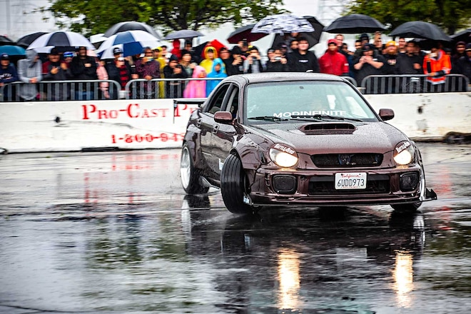 Hoonigan Burnyard Bash WRX