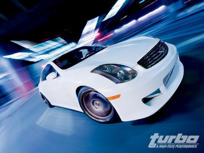 2003 Infiniti G35 Twin Turbo - Riotous Yet Refined