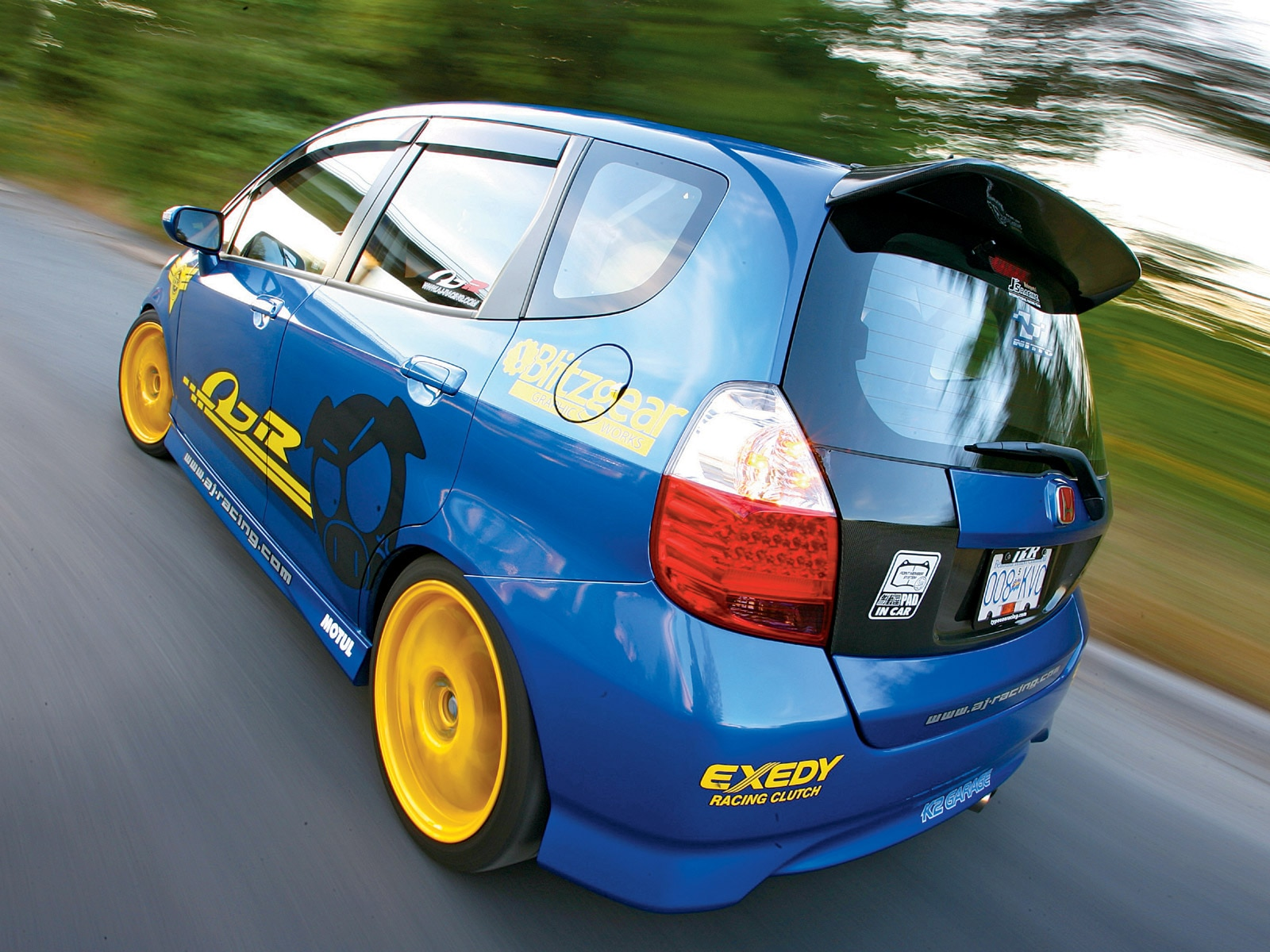 2007 Honda Fit Sport Fidanza Flywheel Honda Tuning Magazine