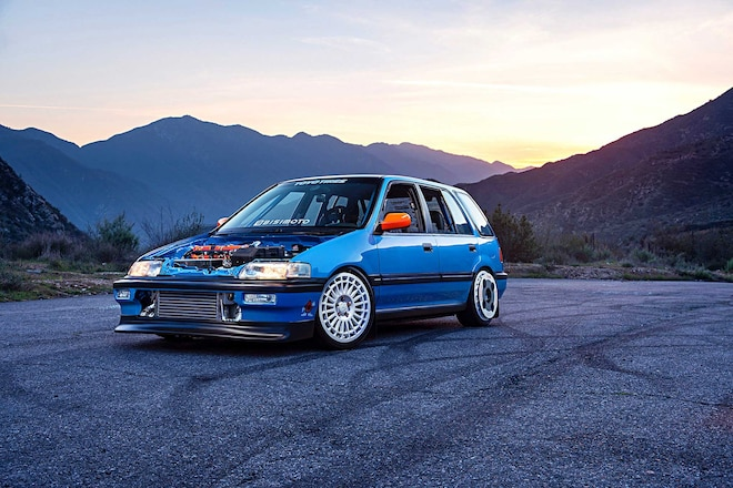 1991 Honda Civic Wagon Custom Front Bumper