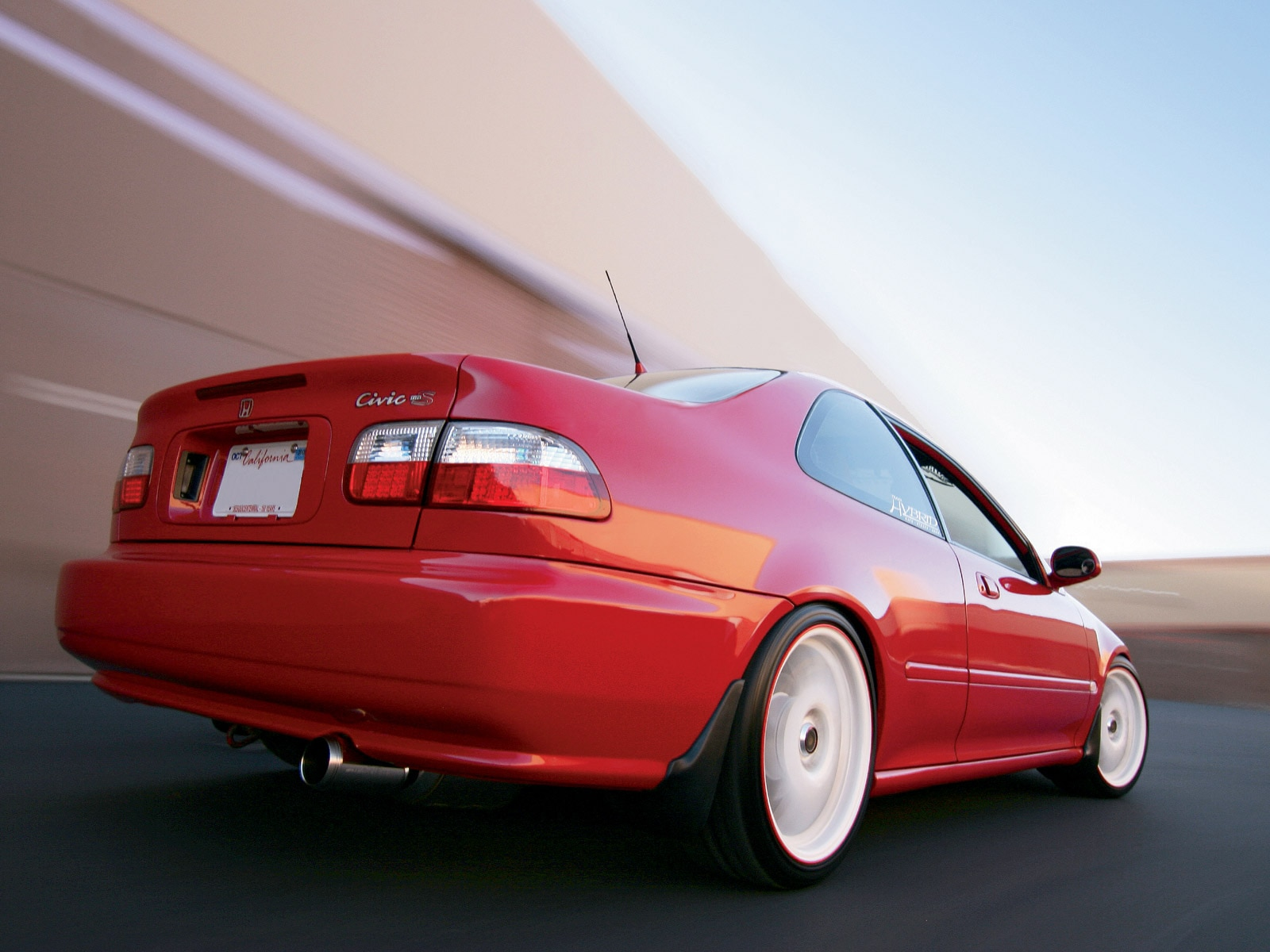 1995 Honda Civic Ex Spoon Sports Honda Tuning Magazine