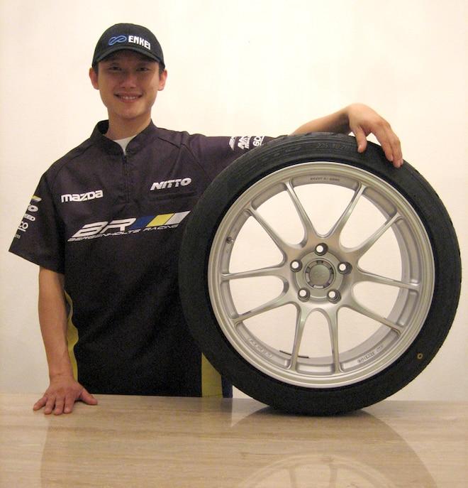 Bergenholtz Racing Partners with Enkei Wheels for 2010