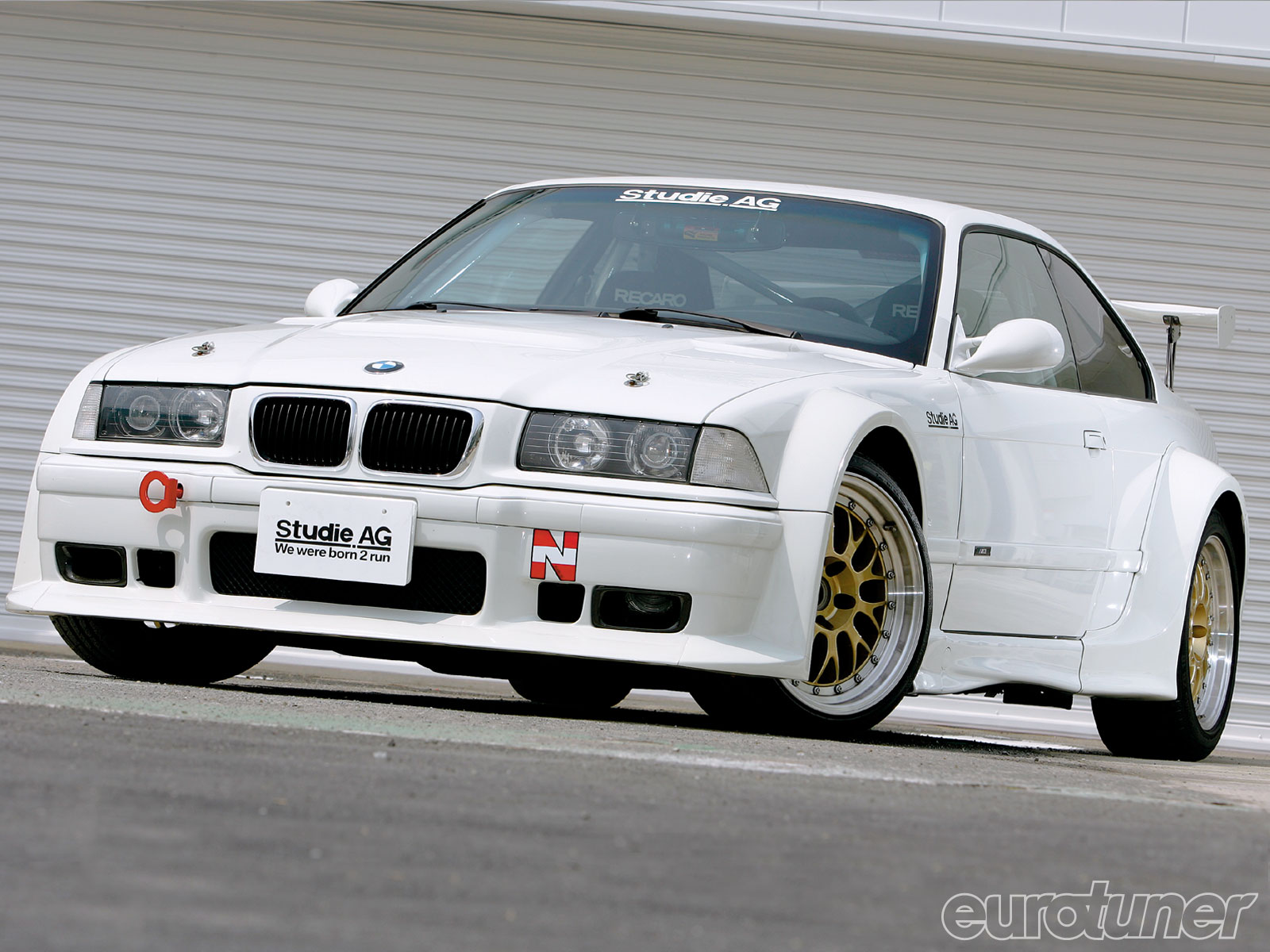 1996 Bmw M3 Gtr Replica 32 Liter S52 Engine Eurotuner Magazine