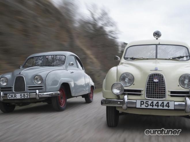 Drive Classic Saabs On Mille Miglia