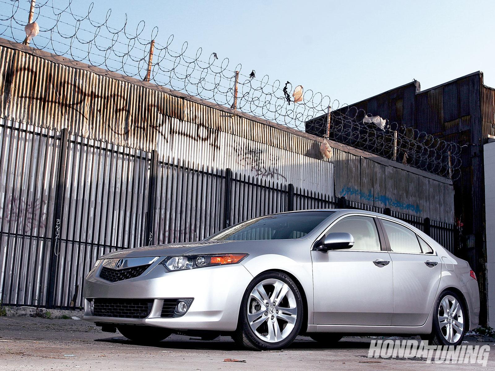 2010 Acura Tsx V 6 Four Door Sedan Honda Tuning Magazine