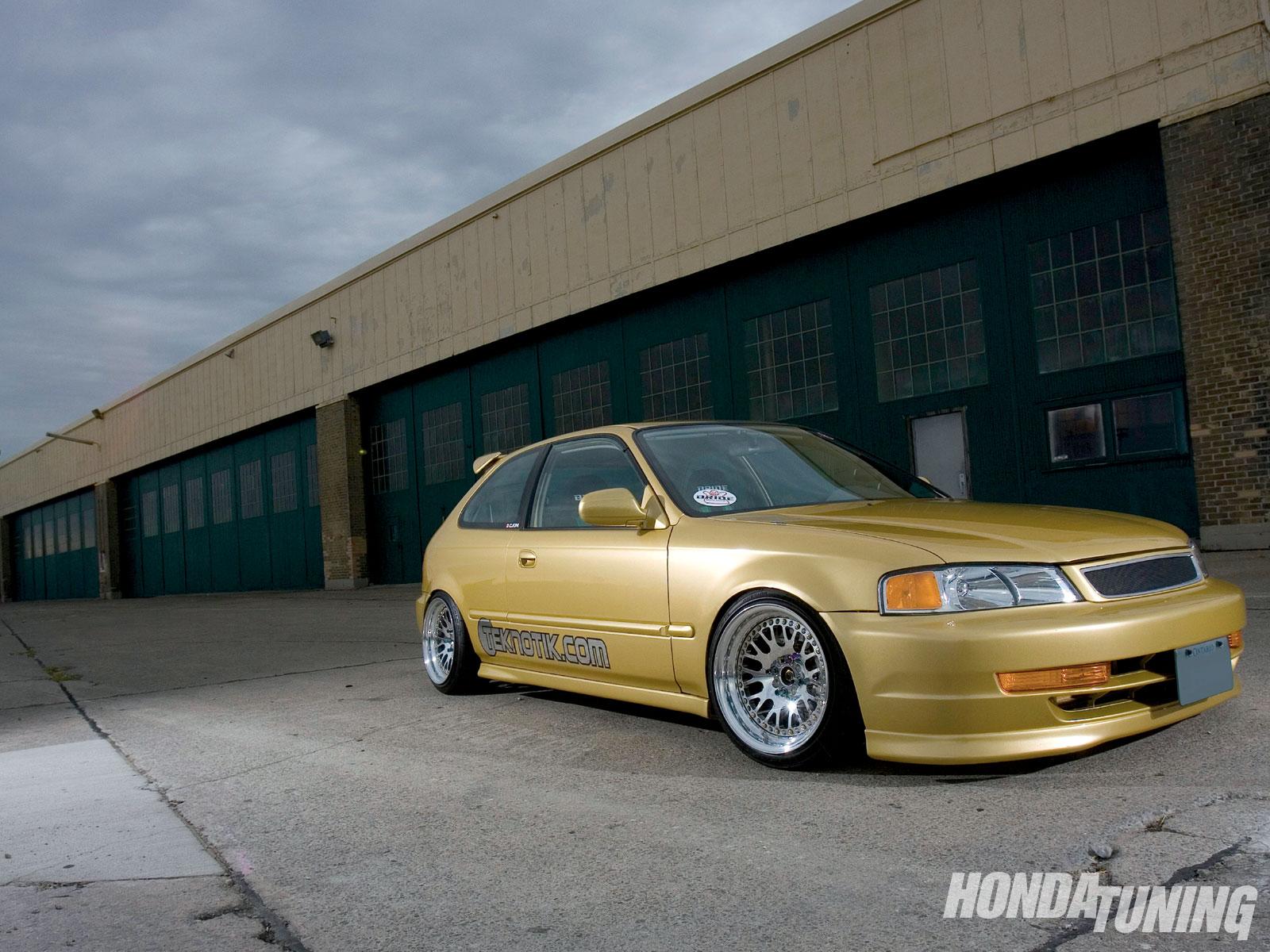 1997 Honda Civic Cx First Car Honda Tuning Magazine
