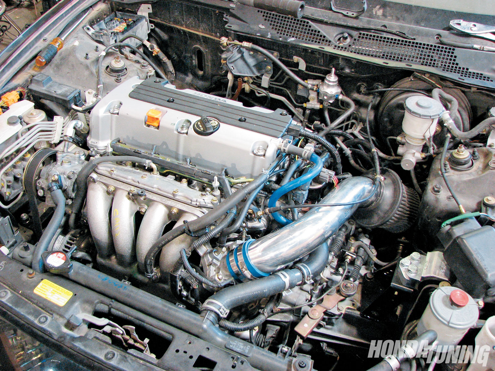 Honda Accord - K24 Engine Swap - Honda Tuning Magazin