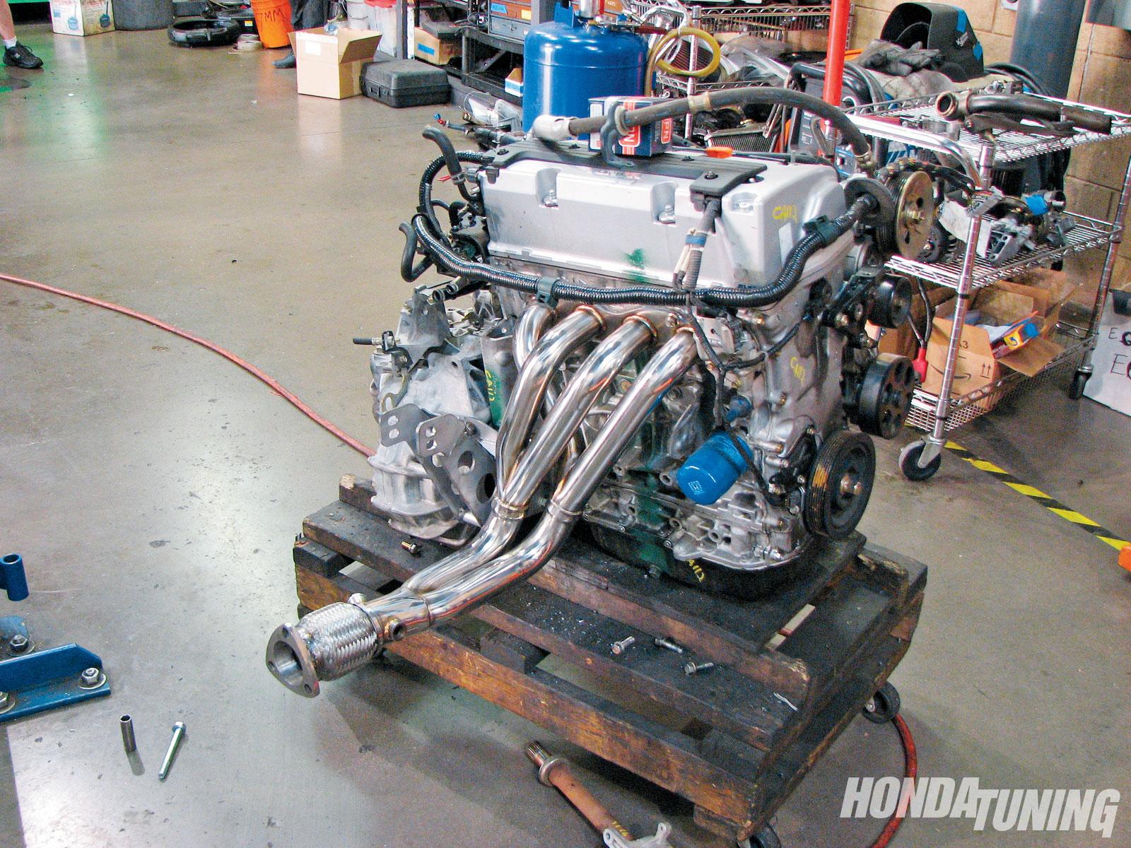 Honda Accord - K24 Engine Swap - Honda Tuning Magazin on