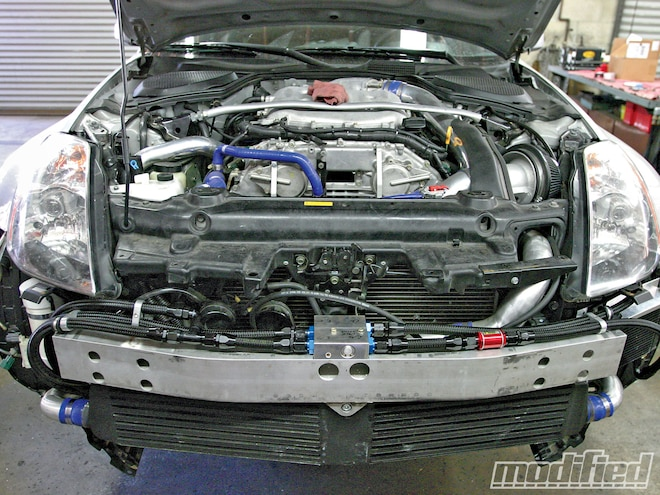 Project Nissan 350Z Oil Cooling System Install