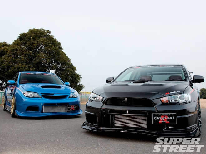 Mitsubishi Lancer Evolution X, Subaru Impreza STI GRB  - It Takes Two To Tango