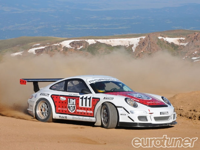 Porsche 911 GT3 Pikes Peak Record - Web Exclusive
