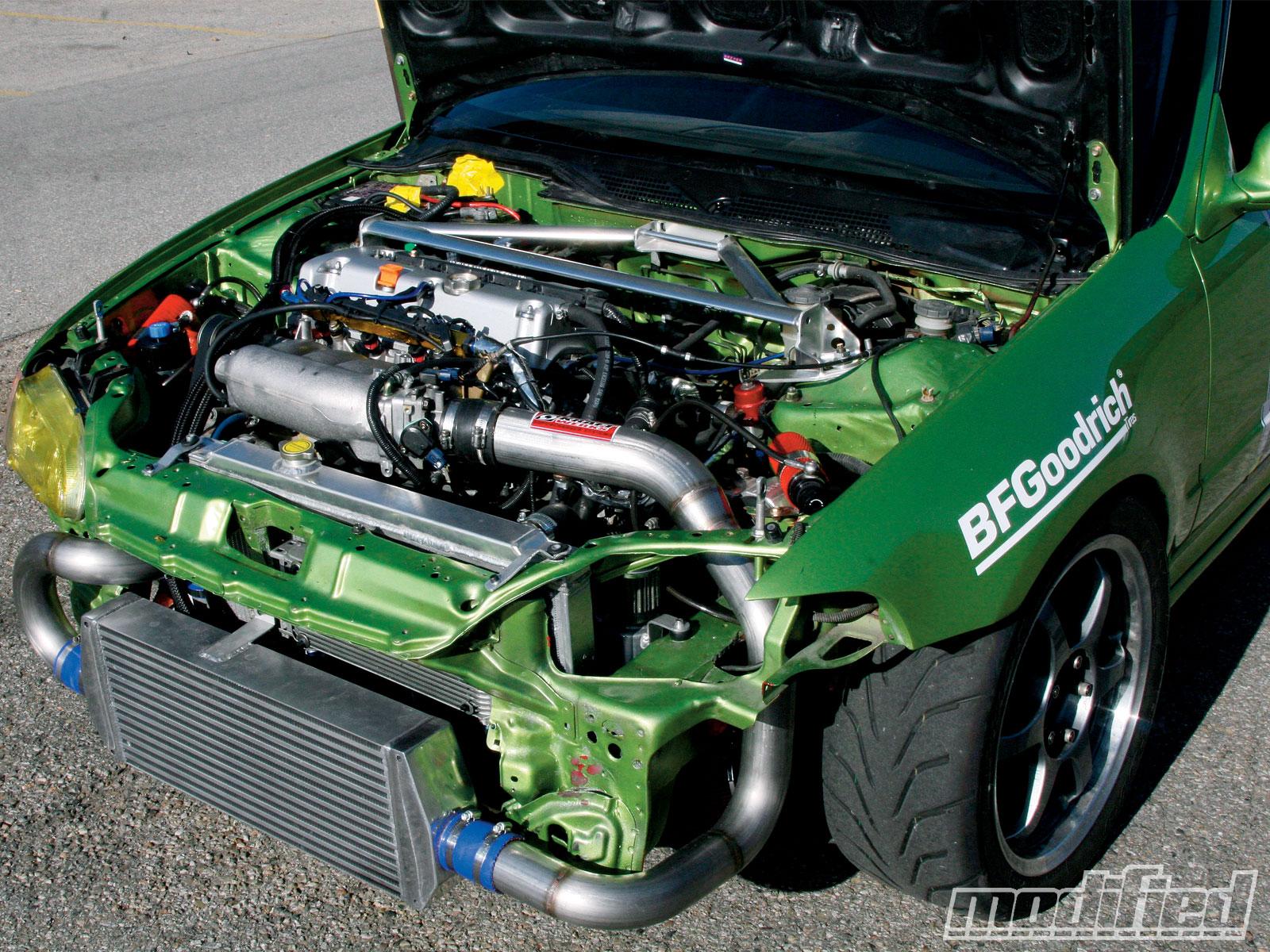 1993 Honda Civic CX Hatchback - Kraftwerks K-series Race