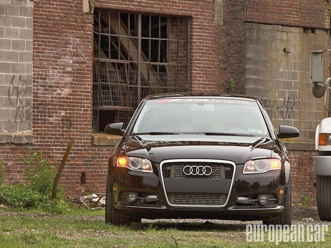 2006 Audi A4 and 2008 Volkswagen GTI