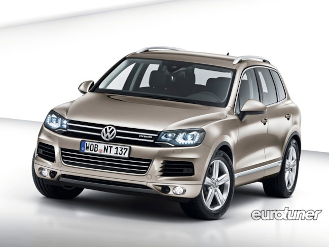 VW Touareg With Hybrid Powertrain - Web Exclusive