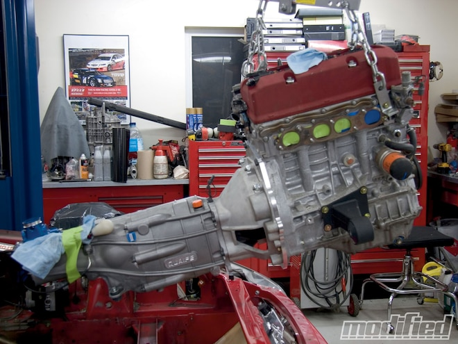 Honda S2000 Quaife Install - Sequential Gearbox - Modified