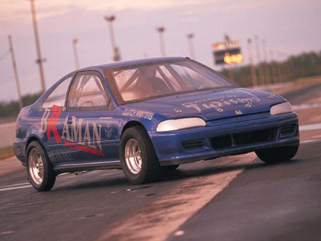 1994 Honda Civic Coupe Turbo Integra B18 Engine Turbo High Tech