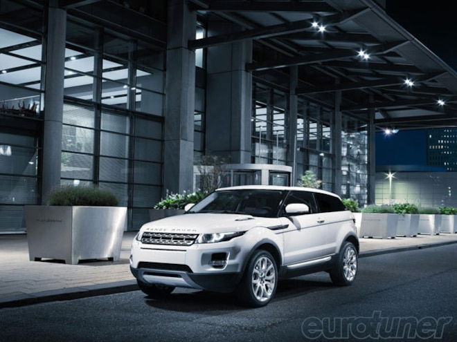 Evoque Is Most Efficient Range Rover Ever - Web Exclusive