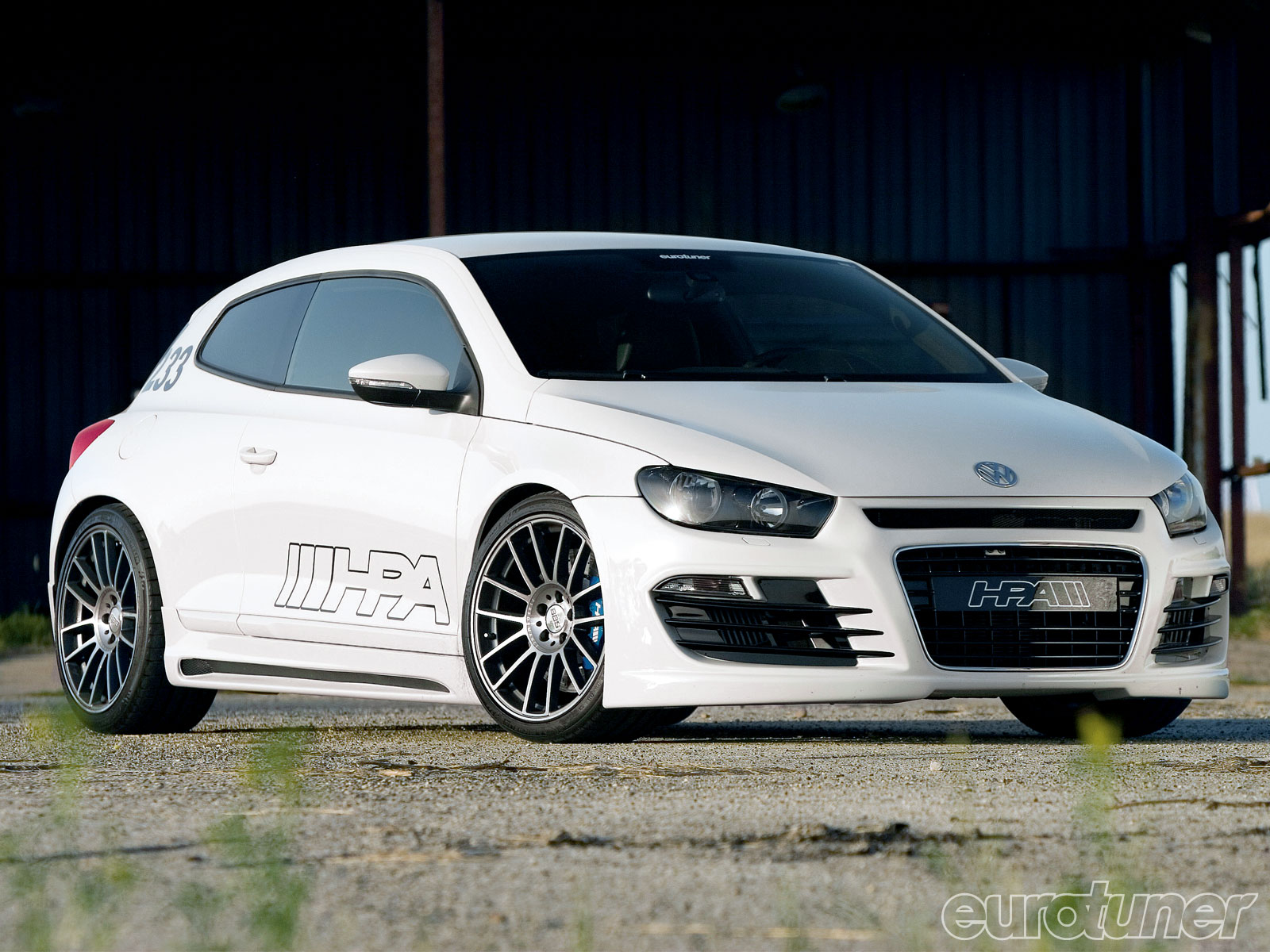 2010 VW Scirocco - 565hp VR6 Biturbo Version - Eurotuner