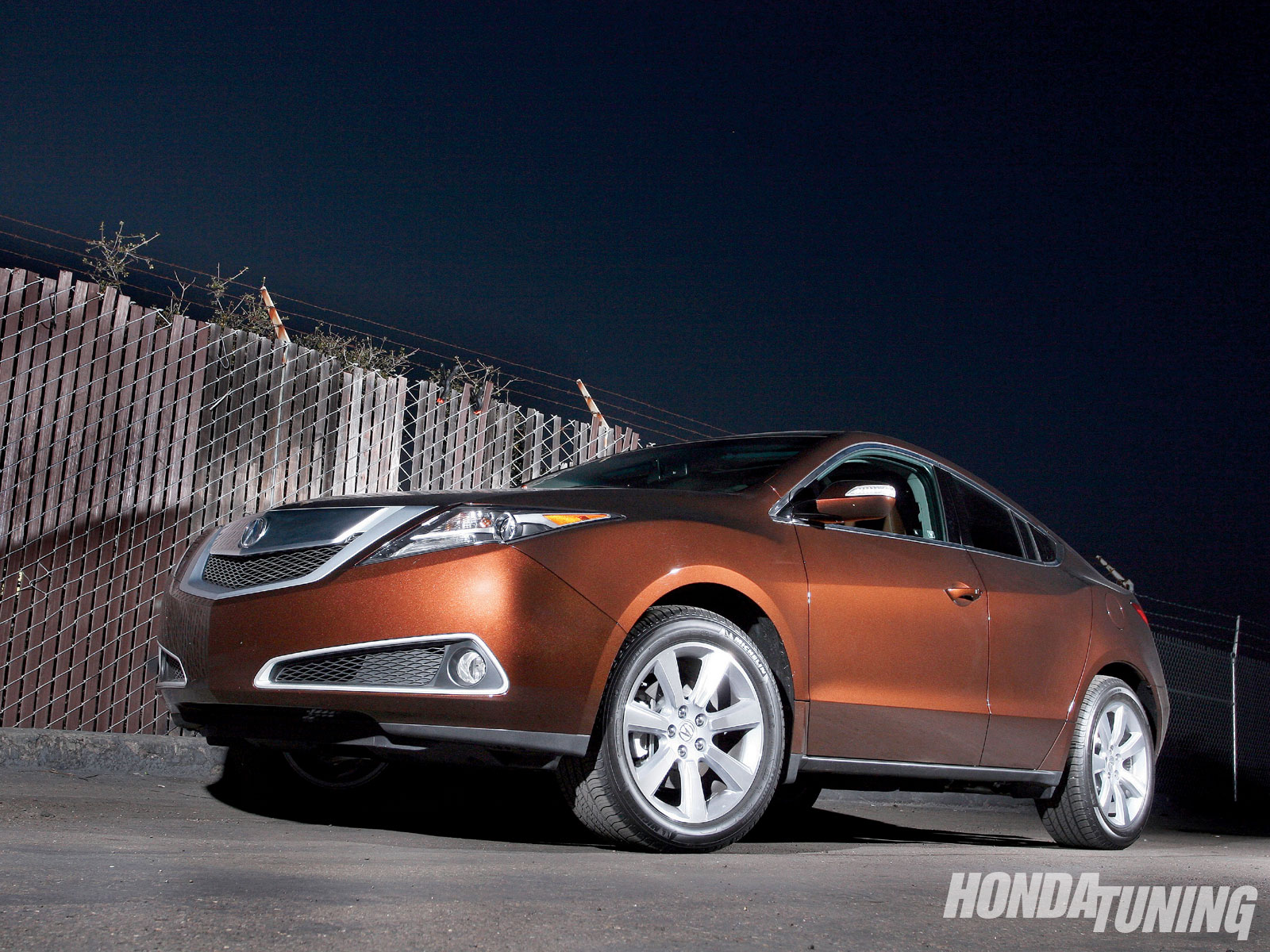 2010 Acura Zdx Drastic Makeover Honda Tuning Magazine