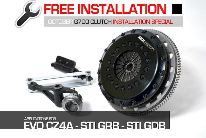 Installation Special: ARK Design G700 Clutch Kit - Web Exclusive