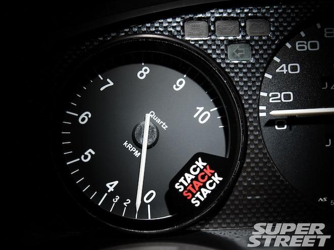 ST200 Clubman Tachometer