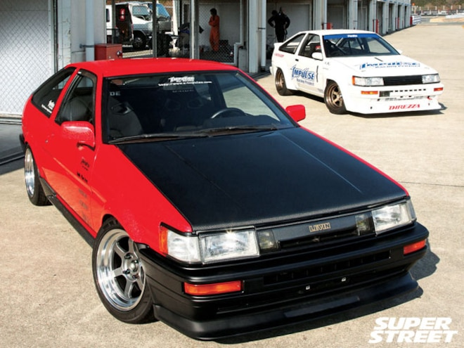 1986 ToyotaCorolla Levin AE86 - Can't 86 The 86