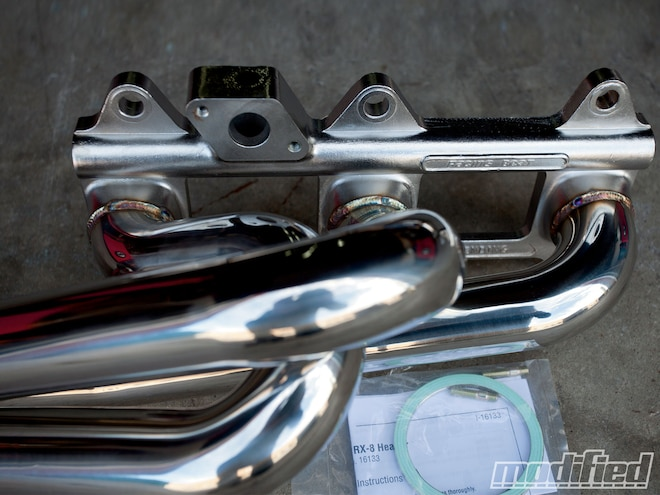 Project RX-8 - Exhaust Side Tuning - Tech - Modified Magazine